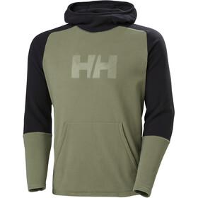 Helly Hansen Daybreaker Hoodie Men, verde/negro